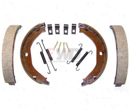 Parking Brake Shoes & Lining Set