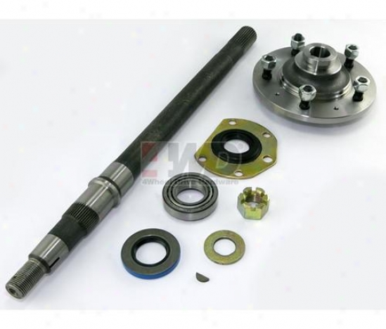 Passenger Side Axle & Hub Kit