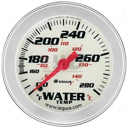 Performance White Face Water Temperature Mechanical Measure  By Equus