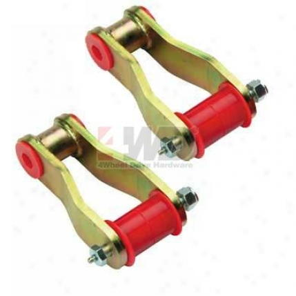 Polyurethane 1 Rear Lift Shackles