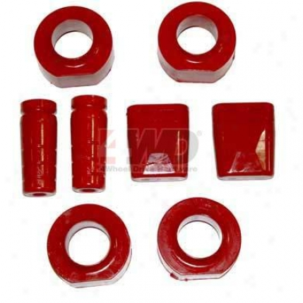 Polyurethane 2 Coil Spring Spacer Kit By Daystar