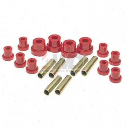 Polyurethane Rear Spring Shackle Bushing Kit