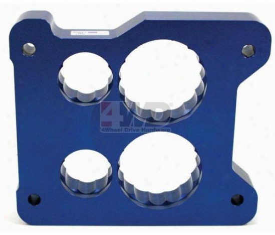 Powr?flo Holley Square Bore 4 Barrel Carburetor Spacers By Jet