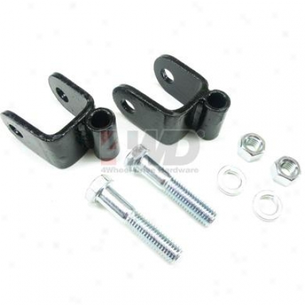 Bring up Axle Lower Shock Mount Brackets By Teraflex