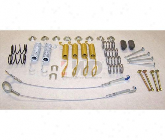 Rear Brake Hardware Kit By Crown