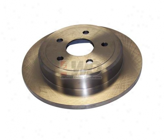 Rear Brake Rotor By Crown