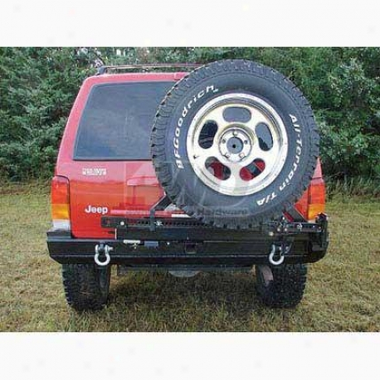 Rear Bumper/ Tire Carrier By Rock Hard 4x4