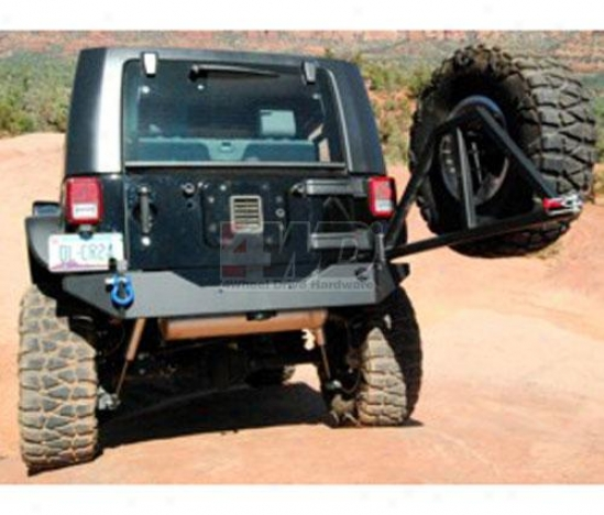 Rear Bumper With Tire Carrier By Kc Hiltes