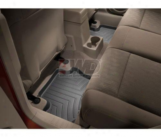 Rear Digitalfit? Floor Liners By Weathertech