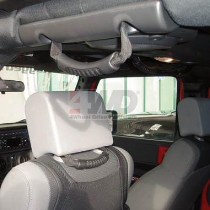 Rear Seat Grab Handles By Rugged Ridge