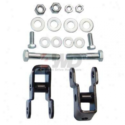 Rear Shock Relocation Kit By 4wheel Drive Hardware