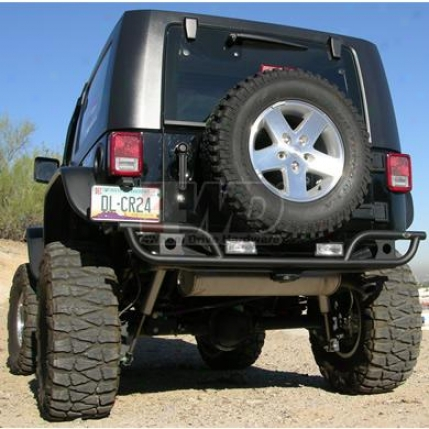 Rear Tube Stle Bumper In proportion to Kc Hilites
