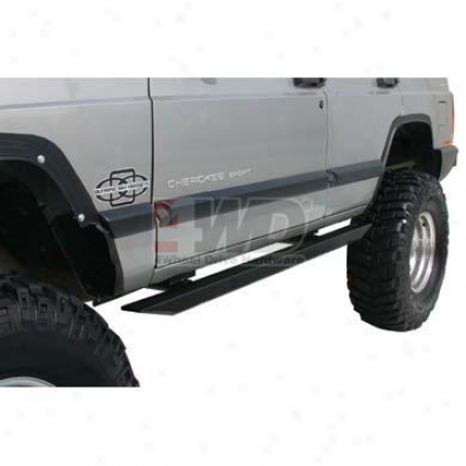 Rectangular T3lescoping Running Boards By Olympic