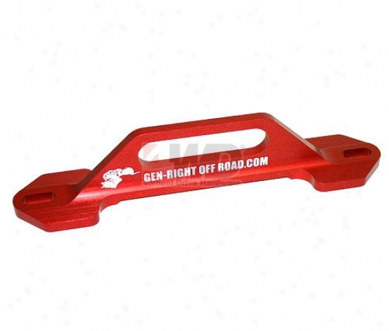 Red Battery Tie Down By Gen-right Off-road