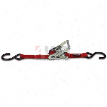 "Red Nylon 1"" X 6'' Strap By Mastercraft"