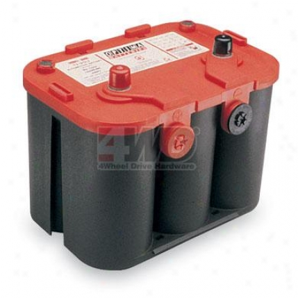 Red Top Standard 12 Volt Battery By Optima