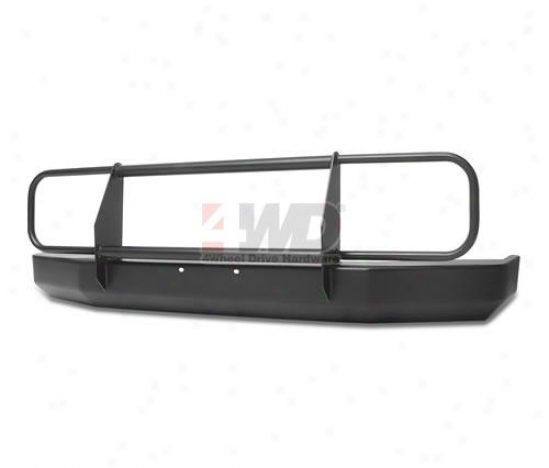 Rock Crawler Front Bumper With Brush Guard And D-ring Mounts By Warrior Products