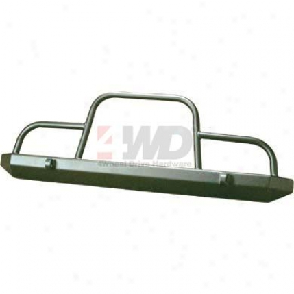 Rock Crawler Front Bumper With Brush Guard By Warrior Products