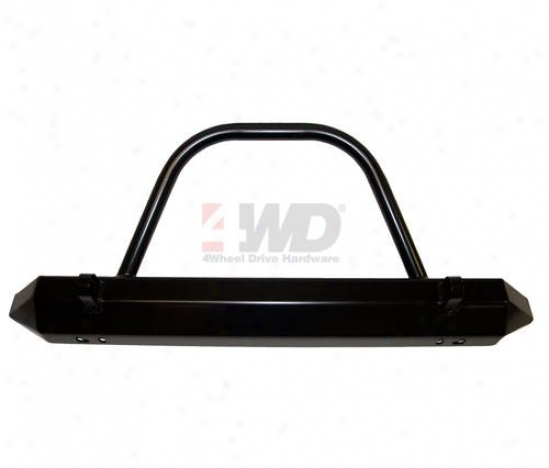 Rock Crawler Front Stubby Bumper With Bursh Guard By Warrior Products