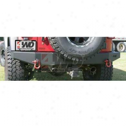 Rock Crawler Off Road Resr Bumper (not For Tire Carrier) By Mopar