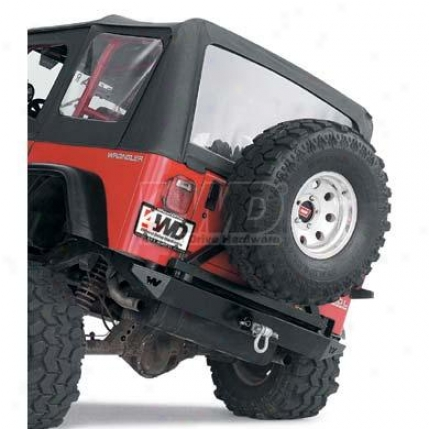 Rock Crawler Tire Carrier By Warn