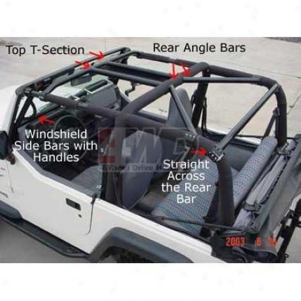 Rock Hard 4x4 Rear Angle Bars