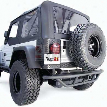 Rrc Rear Bumper With Hitch Box By Rugged Ridge?