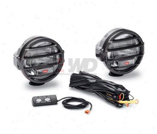Sdb-210 Dual Beam 200,000 Candlepower Driving/spot Lights By Warn