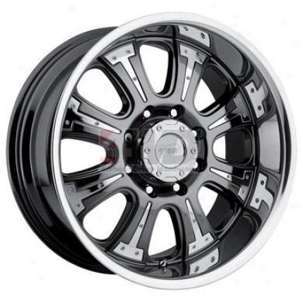 Series 5936 Knigbr Chrome 8-spoke Wheel At Pro Comp