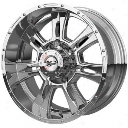 Succession 6047 Xtreme Alloy Chrome 8-spoke Wheel In the name of Pro Comp