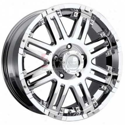 Series 6088 Xtreme Alloy Chrome 8-spoke Wheel By Pro Comp