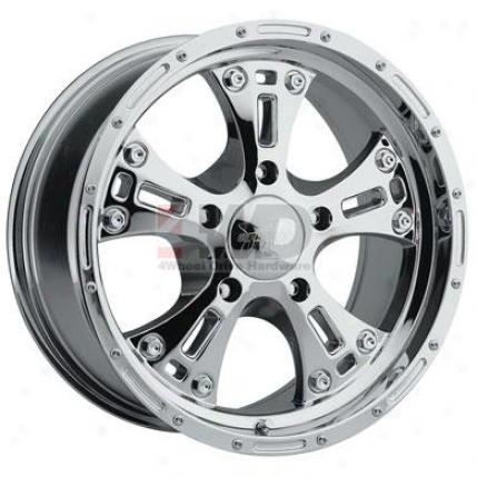 Series 6090 Chrome Alloy 5-spoke Wheel By Pro Comp
