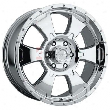 Series 6098 Chrome Alloy 6-spoke Wheel In the name of Pro Comp