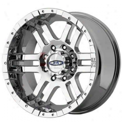 Series M0951 Cast Chrome Wheel By Moto Metal