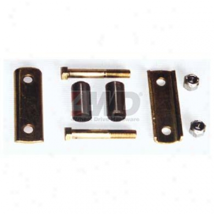 Shackle Kit, Front Or Rear