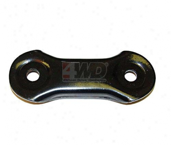 Shackle Plate Yj Front/rear