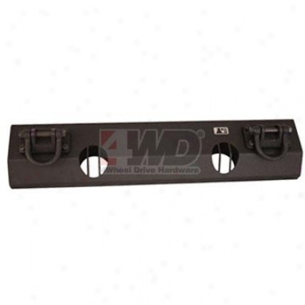 Short Base Light Mount Bumper Center Section By Rugged Ridge
