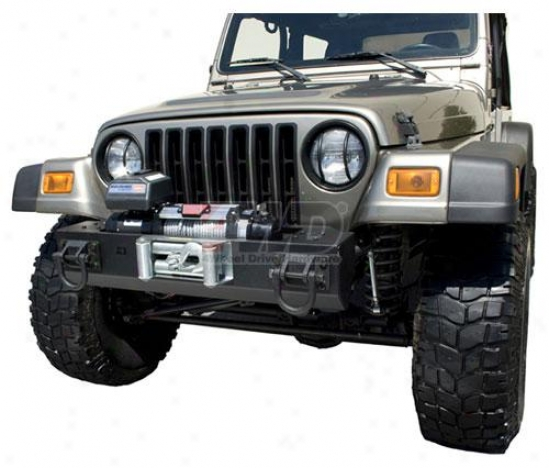 Short Base Winch Mount Bumper Centee Division By Rugged Ridge?