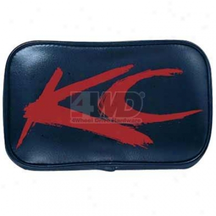 Soft Black Cover With Red Brushed Kc Logo By Kc Hilites