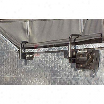 Soft Upper Half Door Bracket Kit By Warrior Products