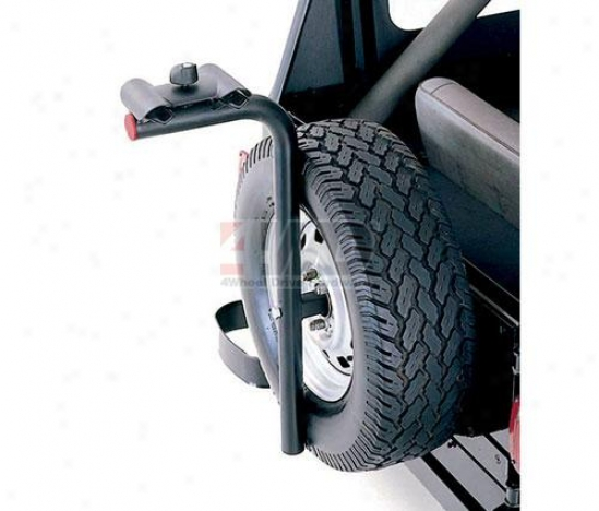 Spare Tire Mounted 2 Bike Carrier By Rugged Ridge