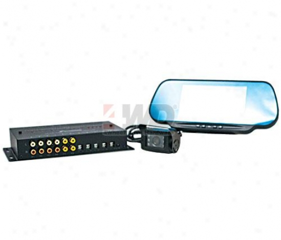 Spotter Bundle With 6? Lcd Rear View Mirror
