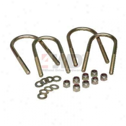 Spring U-bolt Kit By 4wheel Drive Hardware