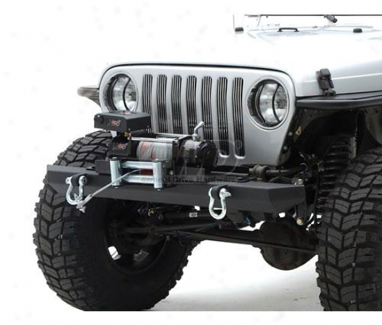Src Clasxic Rock Crawler Front Bumper With D-rings By Smittyiblt