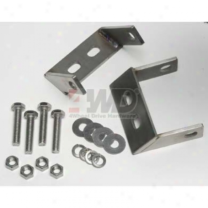 Stainless Steel Stir up Bumper Brackets By Kentrol