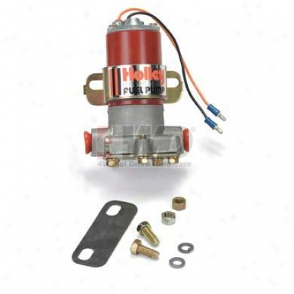 Street Performance Red Electric Fuel Pump By Holley