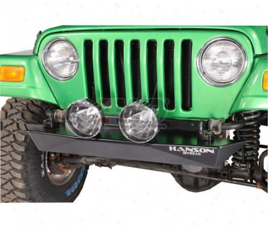 Stubby Front Bumper By Hanson Offroad