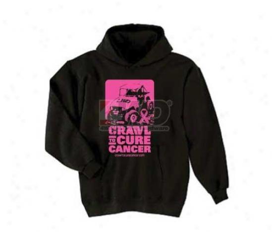 Team 311R ock Crawl To Cure Cancer Hooded Sweatshirt