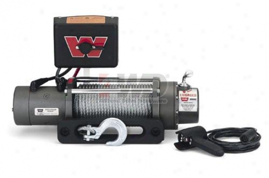 Warn® M8000 Self-rrcovery Winch With Hawse Fairlead