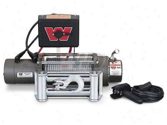 Warn® M8000 Self-recovery Winch With Roller Fairlead